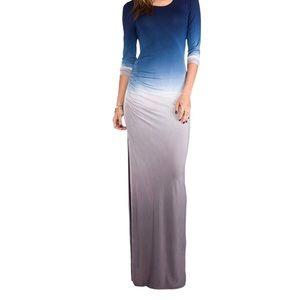 YFB Blais Maxi Dress- Ombré Marine